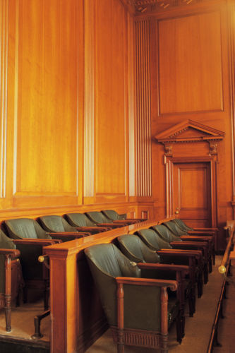 Jury seats - Law Offices of Hope C. Lefeber