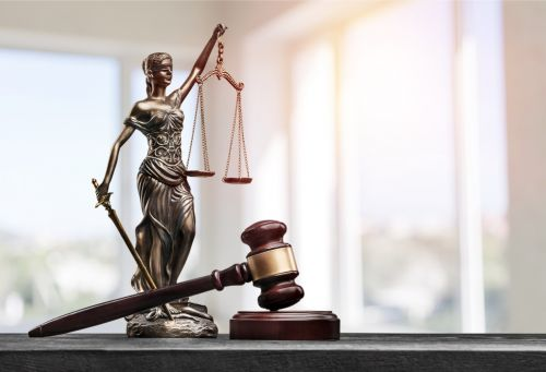 lady justice with judge's gavel